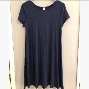 Old Navy M navy comfy flowy dress